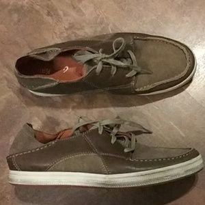 Men's Olukai Pahono Brown Lace Up SZ-9.5